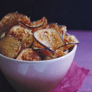Crisp Eggplant Chips.
