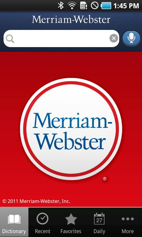 Dictionary - Merriam-Webster - screenshot