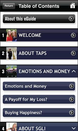 TAPS - Benefits Finance
