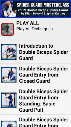 2 Double Biceps Spider Guard