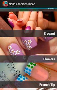 指甲時尚理念