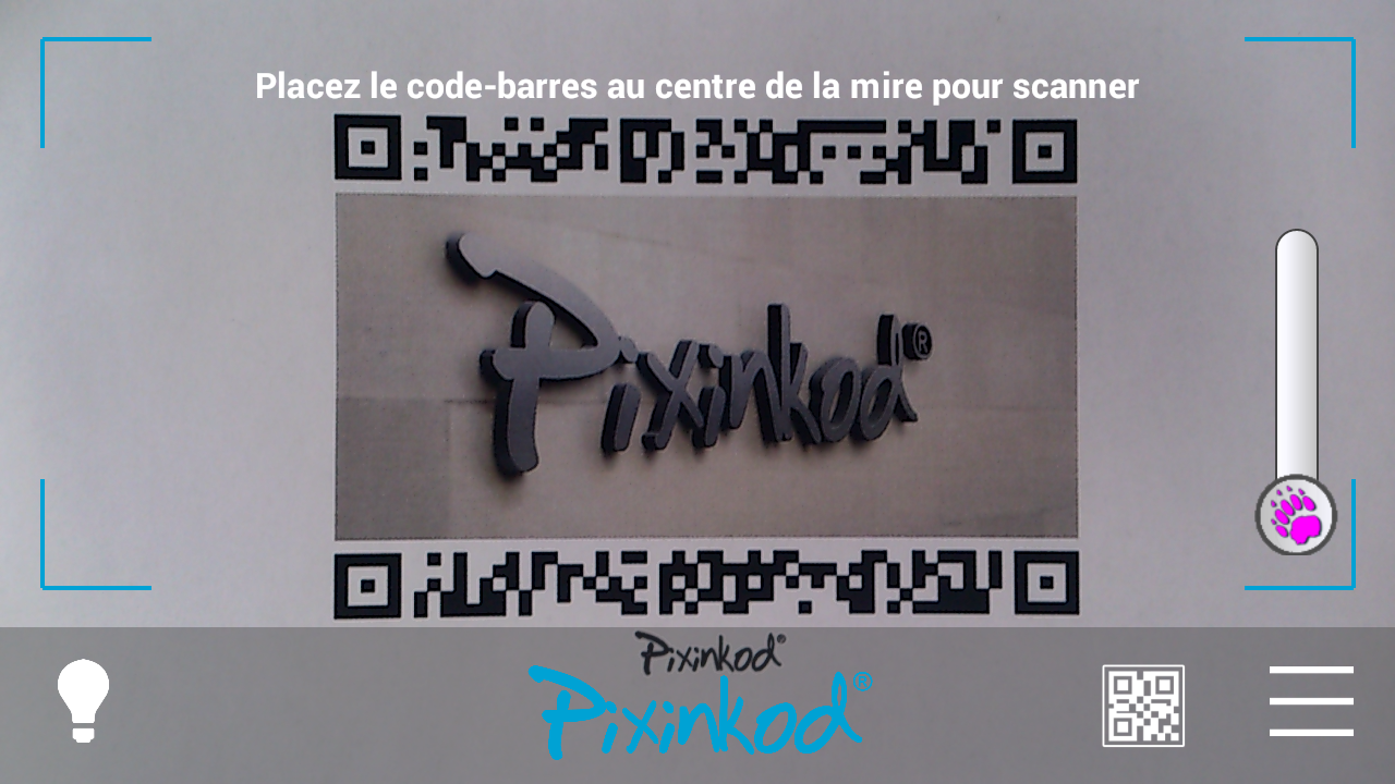 Pixinkod and QR Code Reader – Capture d'écran