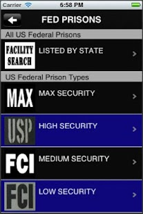 Jail, Prison and Inmate Search - screenshot thumbnail