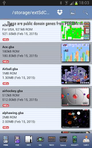 VGBAnext - GBA GBC GB Emulator