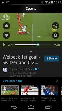 Vodio: Watch Videos, TV & News 1.7.1 screenshot 159720