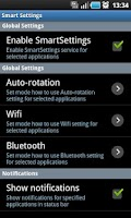 Screenshot of Smart Settings FREE