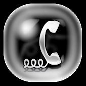 THEME Chrome Glow APK for Blackberry
