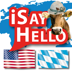 iSayHello English US-Bavarian