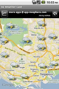 SG Weather Cast- screenshot thumbnail