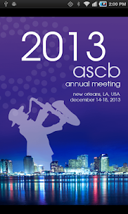 ASCB 2013 Annual Meeting - screenshot thumbnail