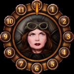 10 Steampunk Clocks Faces