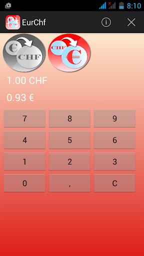 欧元瑞士法郎汇率转换