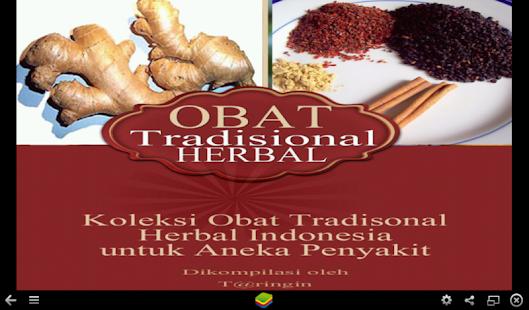 玩免費健康APP|下載Obat Tradisional Herbal app不用錢|硬是要APP