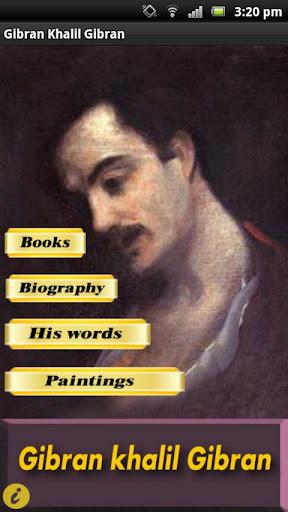Gibran Khalil Gibran English