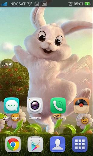 Cute Easter Bunny Wallpaper