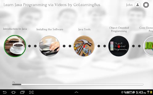 Java Programming via Videos - screenshot thumbnail