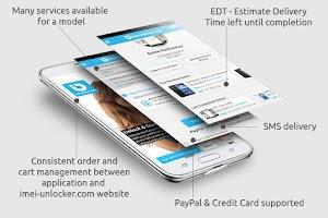 Screenshot of SIM Unlock for LG