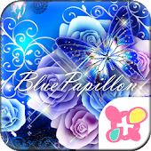 ★FREE THEMES★Blue Papillon