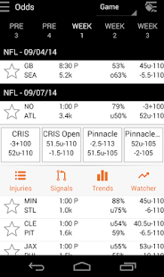 Live Odds - Vegas Lines, Picks- screenshot thumbnail