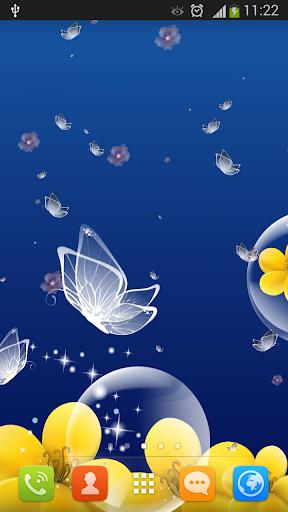 玩個人化App|クリスタル蝶の壁紙免費|APP試玩