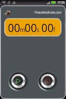Screenshot of Winner stopwatch