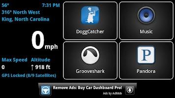 Screenshot of Car Dashboard (Free)