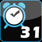 Monthly Alarm icon