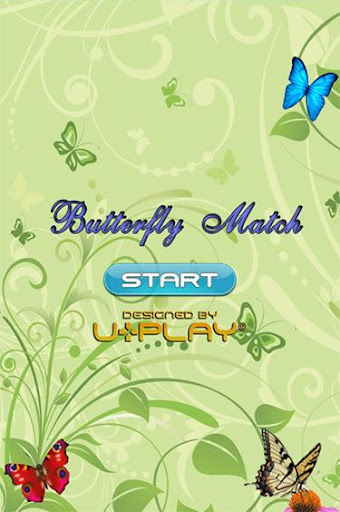 Butterfly Match Game For Kids