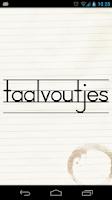 Screenshot of Taalvoutjes
