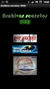 Archivos secretos: OVNI