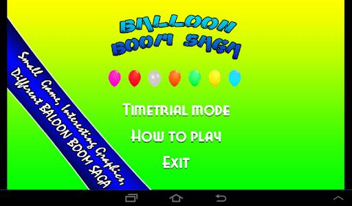 Balloon Boom Saga