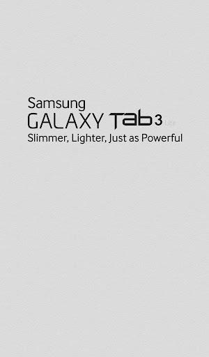 Galaxy Tab3 lite Retailmode