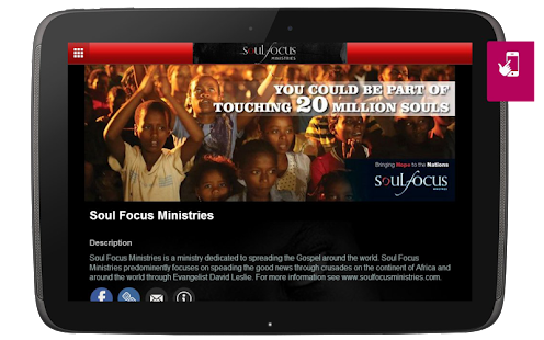 Soul Focus Ministries- screenshot thumbnail