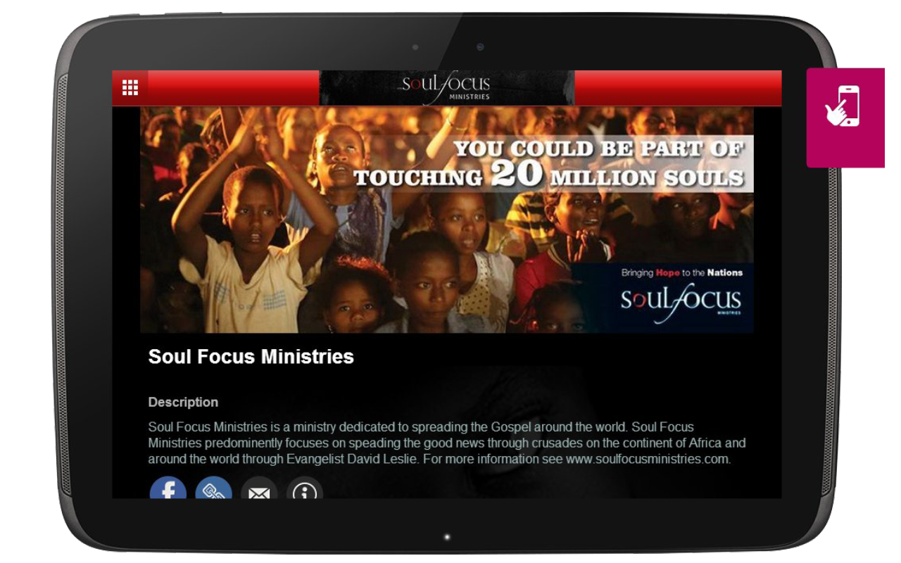 Soul Focus Ministries- screenshot