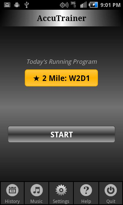 C25K Running AccuTrainer- screenshot