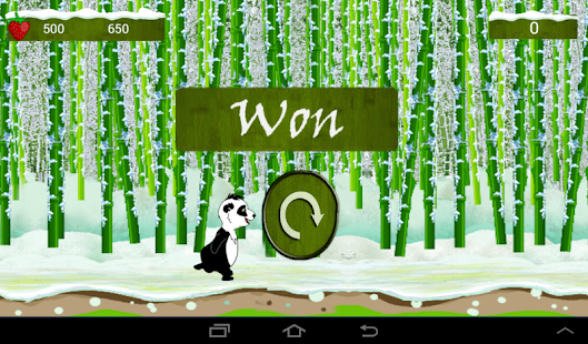 Panda Run- screenshot thumbnail