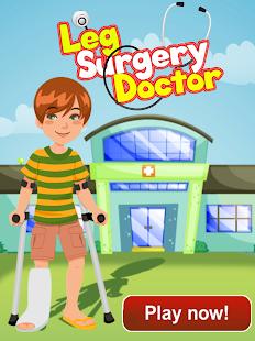 Leg Doctor - Surgery Games
