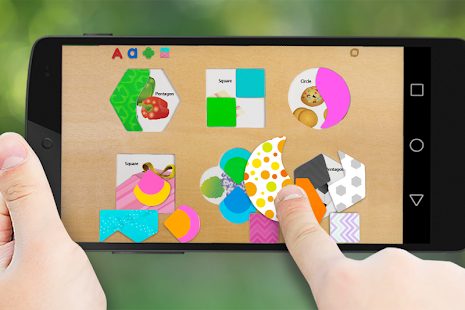 Shape matching puzzle- screenshot thumbnail