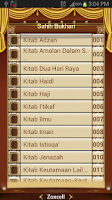 Screenshot of Sahih Al Bukhari (Indonesia)