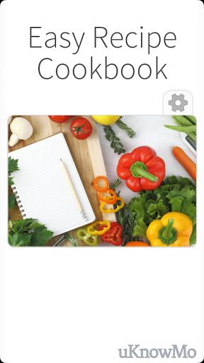 Easy Recipe Cookbook - Foods