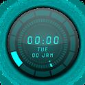 Neon Cube AnalogClock LWP icon