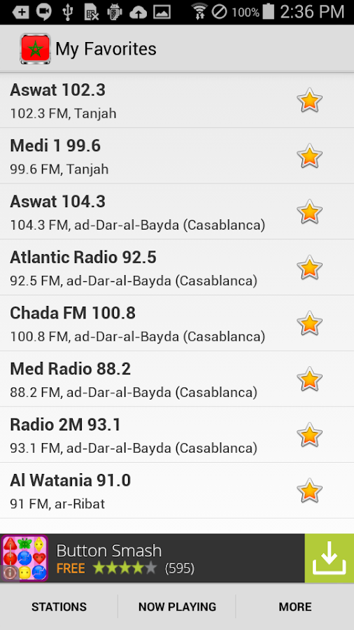 Radio Morocco- screenshot