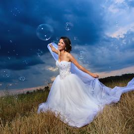 bride  by Dejan Nikolic Fotograf Krusevac - Wedding Bride ( kraljevo, vencanje, jagodina, snasa, paracin, krusevac, wedding, svadba, vencanica, kragujevac, bride, bidermajer )