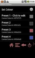 Screenshot of Virtual Button Bar