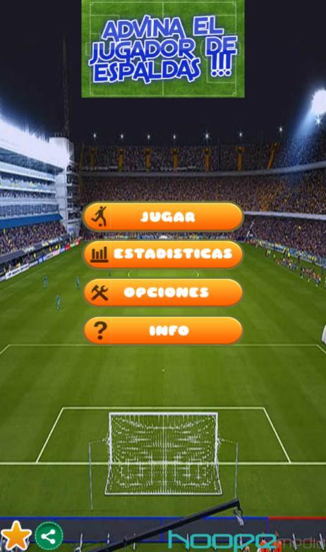 Adivina el Jugador de Espaldas - screenshot