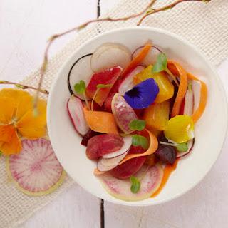 Bloomin Salad with Lavender Honey Vinaigrette