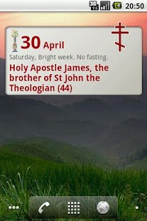 Orthodox Calendar - screenshot thumbnail