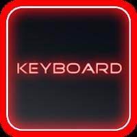 Glow Legacy Red Keyboard Skin 1.4