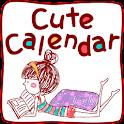 Cute Calendar icon