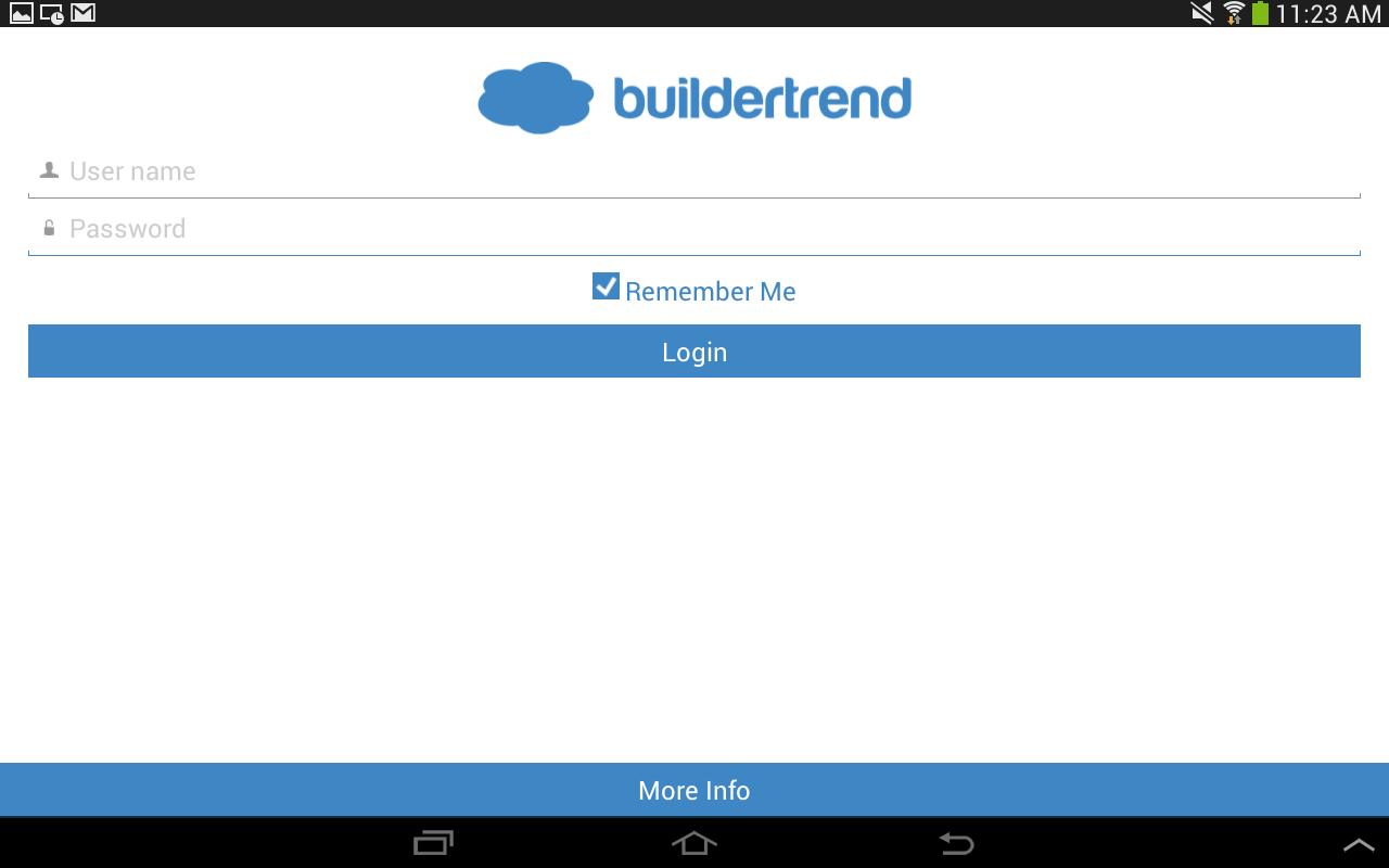 BuilderTREND - screenshot